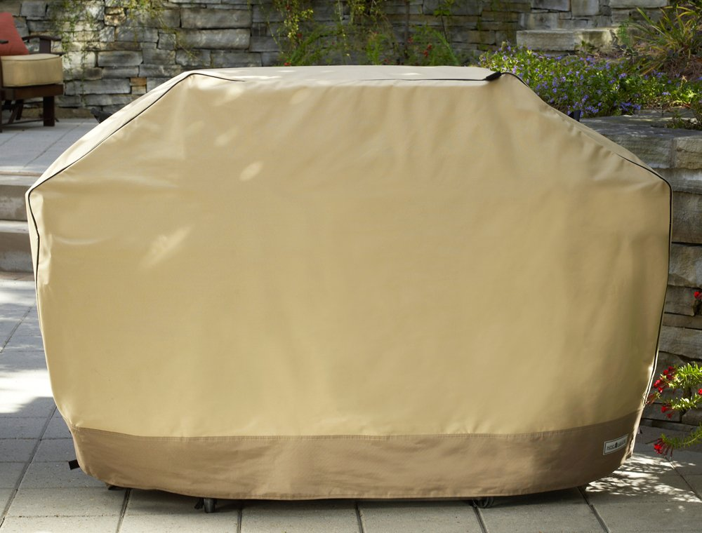 Amazon.com : Patio Armor SF40265 70 Inch Premium X Large Grill Cover, Taupe  : Outdoor Grill Covers : Patio, Lawn U0026 Garden
