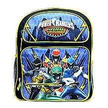 "Medium Backpack - Power Rangers - Dino Super Charge 14"" School Bag pr30279"