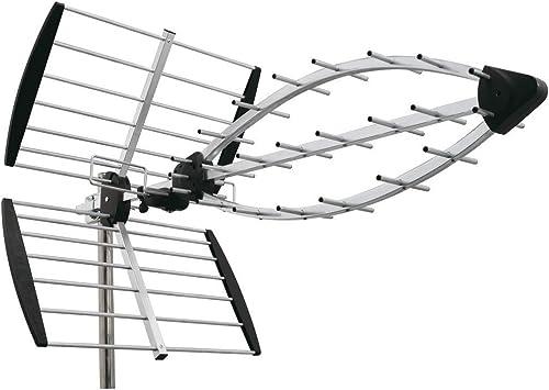 Wisi eb59 antena terrestre UHF Elem/Tri mantel 15.5db ...