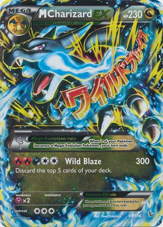 Pokemon - Mega-Charizard (69) - XY Flashfire - Holo
