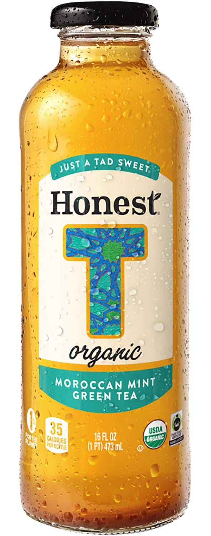 Honest Tea Organic Moroccan Mint Tea Bottle (12x16 OZ) by Honest Tea