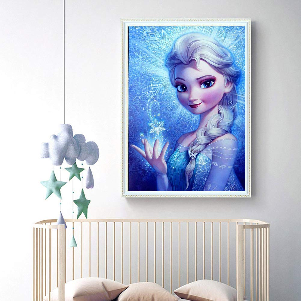 DIY 5D Square Full Drill Art Perfect for Relaxation and Home Wall Decor Diamond Painting Kits for Adults Cartoon Collection, 12x12inch