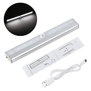 Amazon.com: Lámpara de luz para debajo del gabinete, 10 ...
