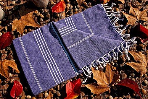 Lavender Cotton Peshtemal Swimming Backpacking