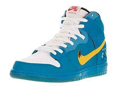 buy online 47638 8c5bc Amazon.com | Nike Men's Dunk High Premium SB Skate Shoe | Basketball