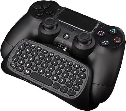 Megadream - Teclado para mando de PS4 (2,4 G, inalámbrico ...