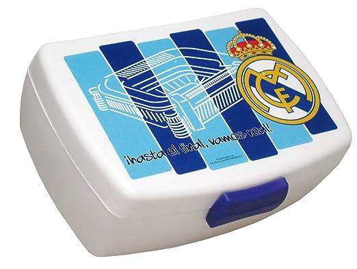 CYP Imports LB-42-RM Sandwichera plástico, diseño Real Madrid, Azul, 0 cm