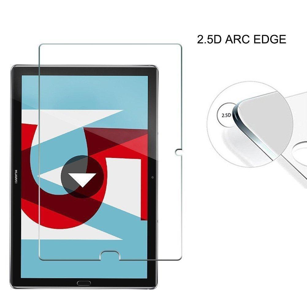 MaxKu 3 Paquetes Huawei MediaPad M5 10.8″ Protector de Pantalla, Rusee Ultra HD Protector Anti-Arañazos Protector de Pantalla HD de 0.2mm/4H Ultra ...