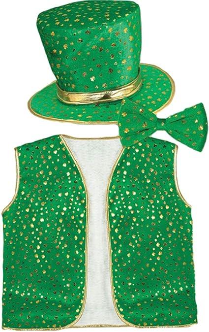 LOVEIFE Accesorios para el día de San Patricio, Sombrero de trébol ...