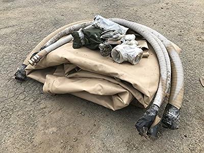 GTA 10,000 Gallon Collapsible Fabric Fuel Tank GTA-10KF Desert Tan