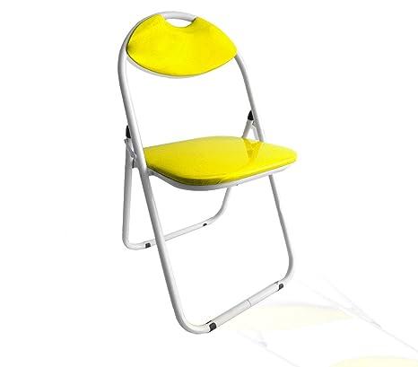 Set 4 sillas plegables VESTIAMO CASA respaldo y asiento ...