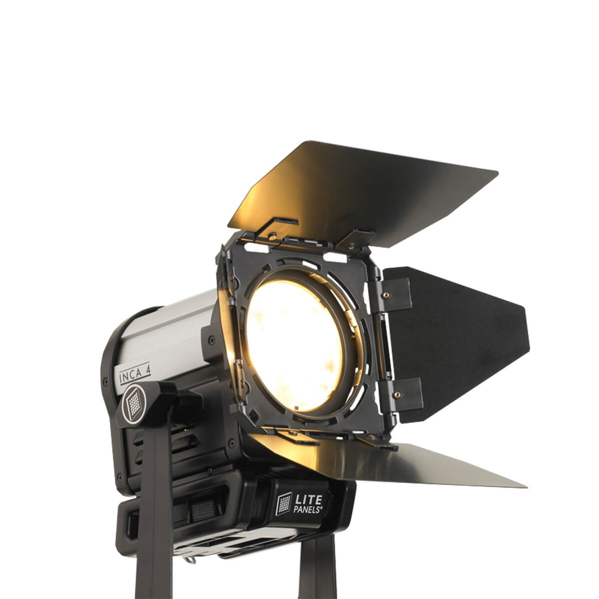 Litepanels Inca 4 Tungsten Fresnel | Compact Tungsten Balanced DMX LED Panel 906-4003 by Lite Panels