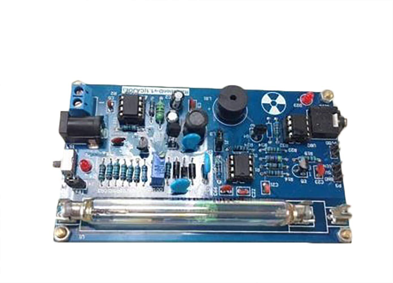 BAOSHISHAN Kit de contador Geiger montado DIY Kit de detector de radiación nuclear tubo GM