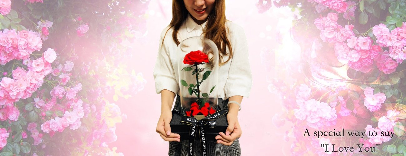 DeFaith-Life-Sized-Beauty-and-The-Beast-Enchanted-Rose-Preserved-Real-Rose-with-Fallen-Petals-in-Glass-Dome-Great-Gift-for-Her-Anniversary-Valentines-Day-Mothers-Day