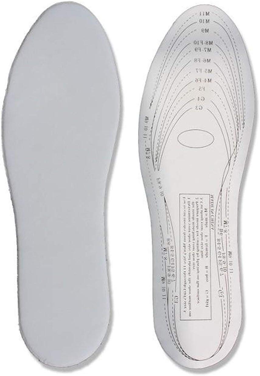 Sairis A Pair//SET Uomo Donna Memory Foam Solette per scarpe Solette antibatteriche universali Sollievo dal dolore Cuscini per solette