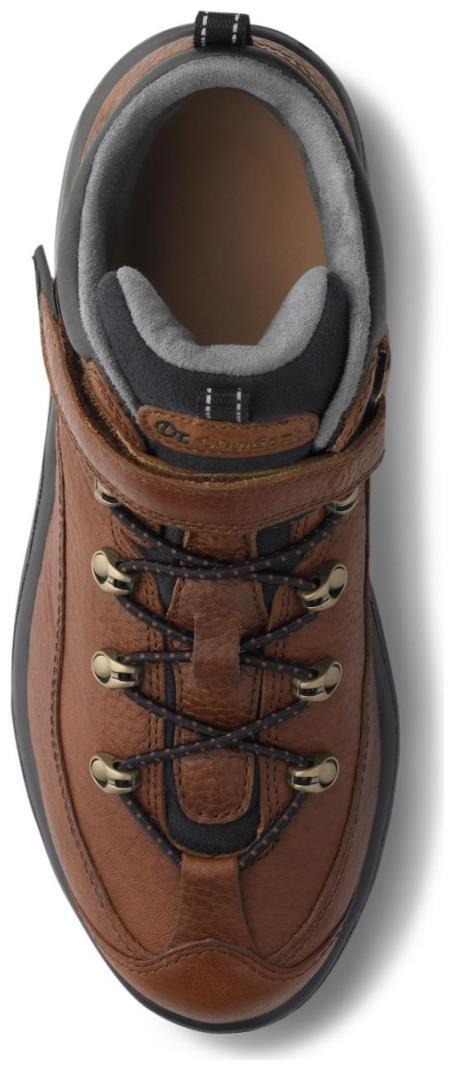 Dr. Comfort Women's Vigor Chestnut Diabetic Hiking Boots by Dr. Comfort (Image #2)