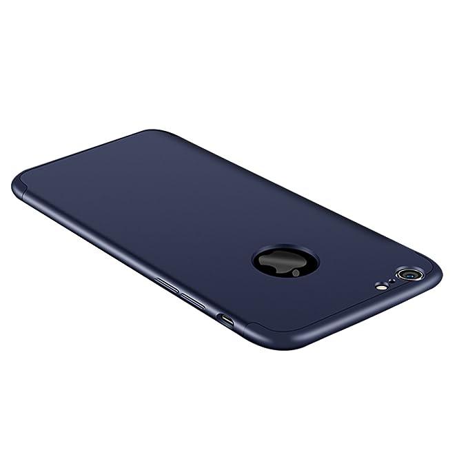 566e4f15a53 Vanki Funda iPhone 6/6S, 360 Grados Caso Carcasa Cubierta de lujo 3in1  híbrido
