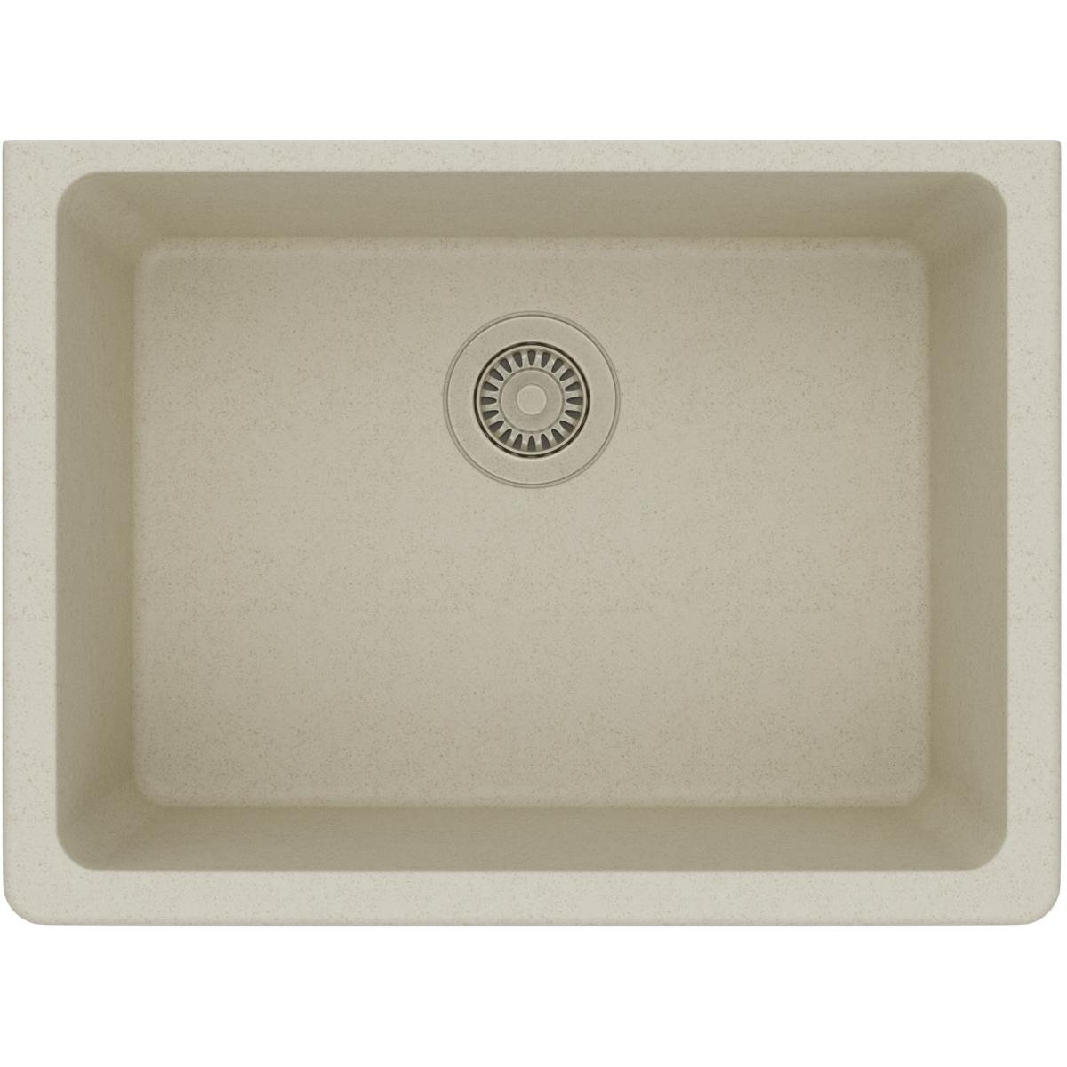 Elkay Quartz Classic ELGU2522BQ0 Bisque Single Bowl Undermount Sink