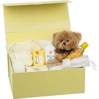 Bebé recién nacido en caja de regalo