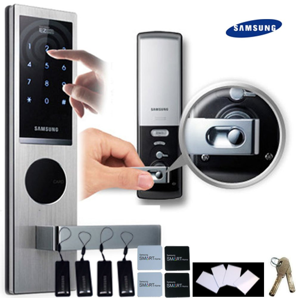 technology door locks lockitron fits over existing deadbolts sc 1 st wired. Black Bedroom Furniture Sets. Home Design Ideas