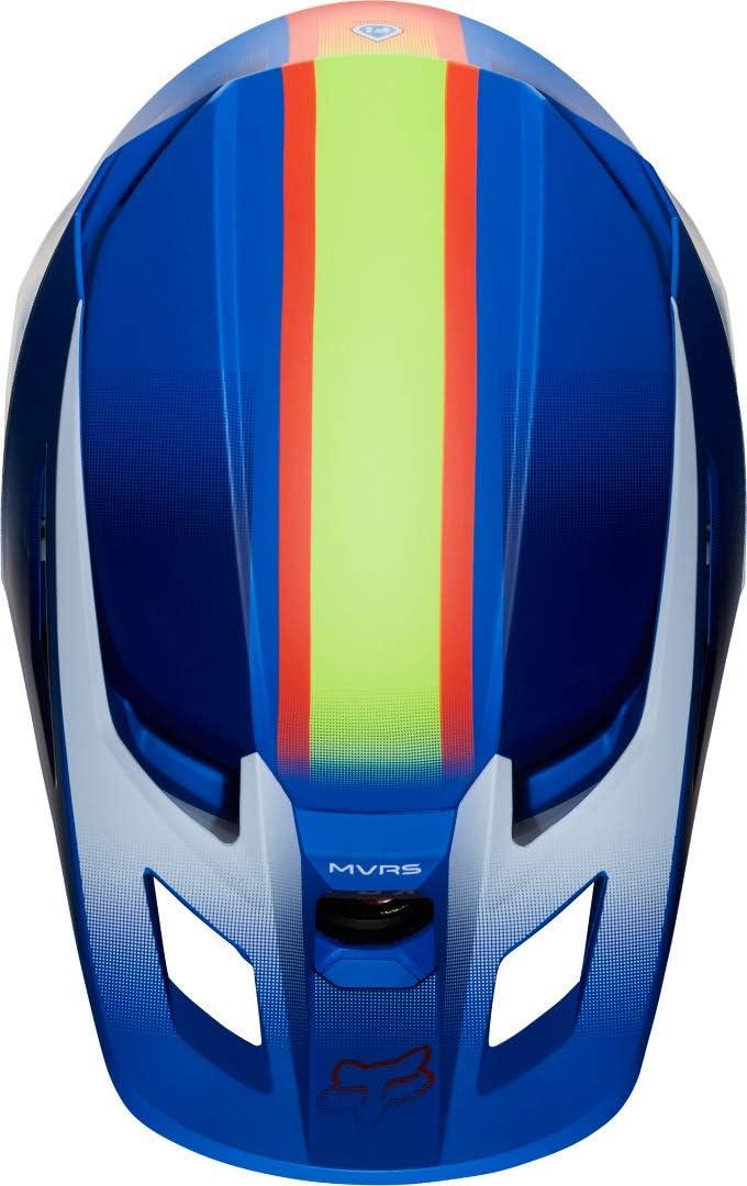 L FOX Motocross-Helm V2 Blau Gr