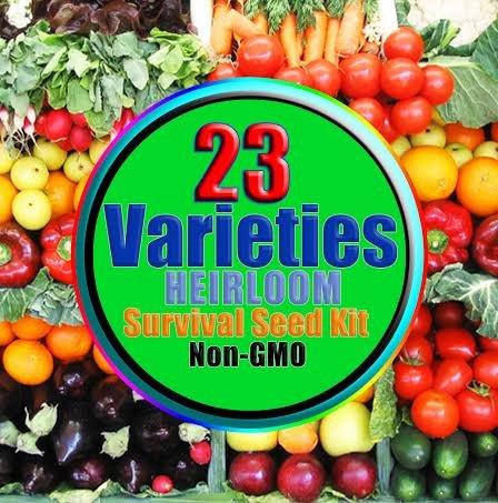 Survival Seed Kit-