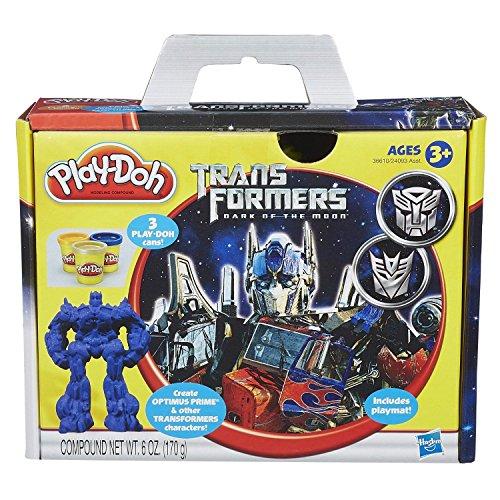 Play-Doh Transformers Dark of the Moon Set NIB Sealed (Play Dough) .HN#GG_634T6344 G134548TY31379 - Nib Transformers