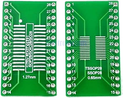 SOIC-18 Wide 300mil Breakout Board Adapter for Prototyping