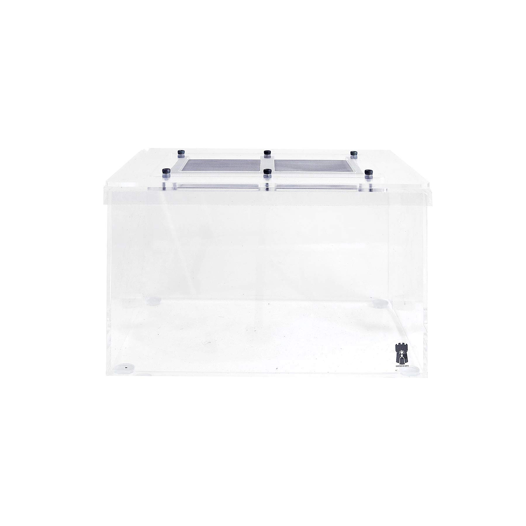 Empire of Ants Acrylic Outworld Arena Enclosure 200mm x 150mm x 120mm by Empire of Ants