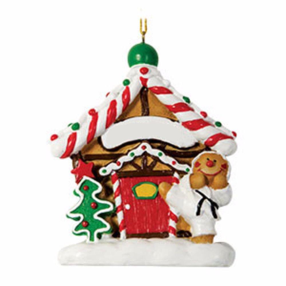 Amazon.com : Gingerbread Dojo Ornament Christmas Ornament : Sports ...