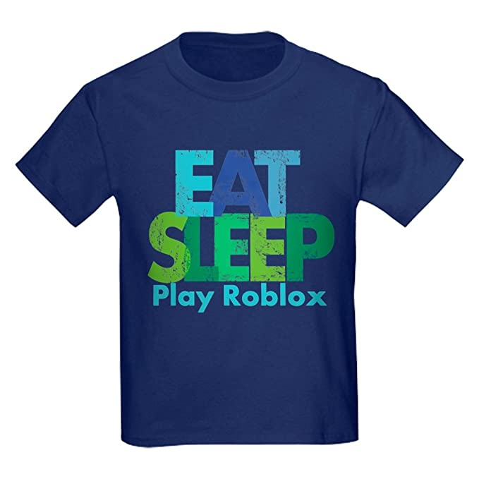 Amazoncom Cafepress Play Roblox Kids Cotton T Shirt Navy Clothing
