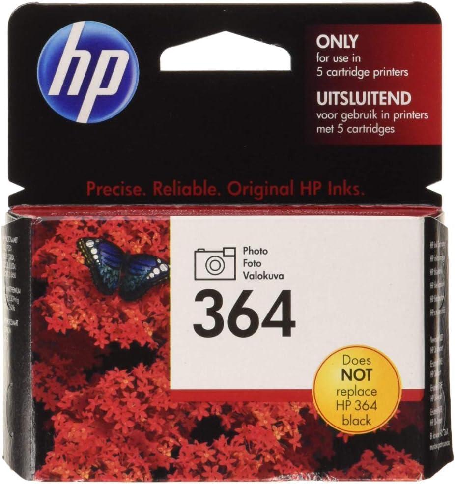 Hp 364 Foto Schwarz Original Druckerpatrone Bürobedarf Schreibwaren