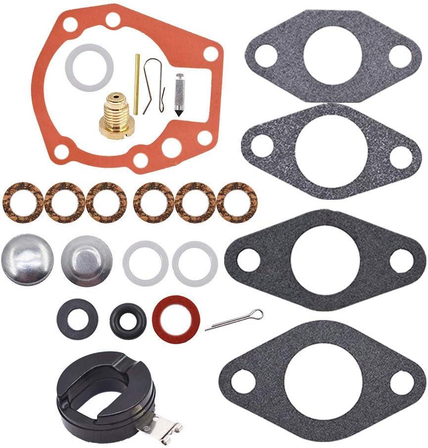 Carburetor Kit & Float Fit for Johnson Evinrude 1.5 2 3 4 5 5.5 6 HP 439071 18-7043