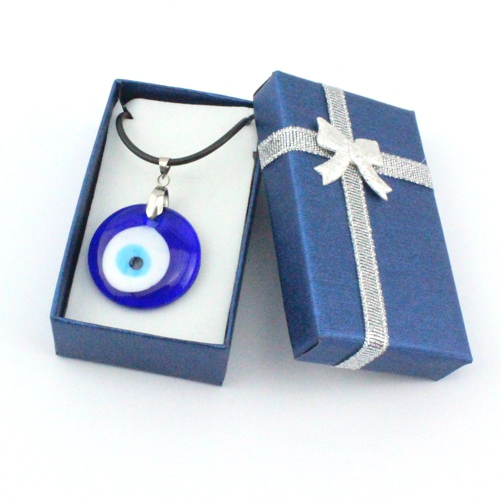 Amazon.com: Turco Mal de ojo (Nazar) Color Azul PVC de ...