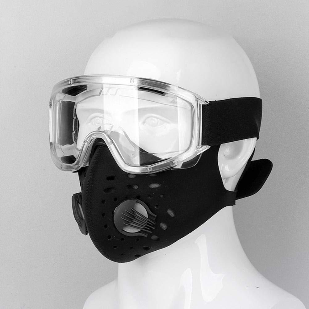 Miya PC Gafas de seguridad Protecci/ón UV Gafas de moto Polvo Resistente al agua y al viento Resistencia al impacto de alta resistencia para ciclismo