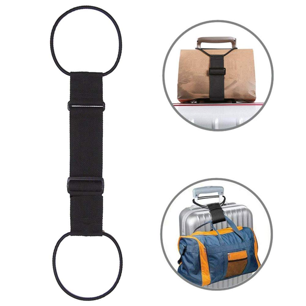 Besego Luggage Straps Adjustable Suitcase Belt for Frequent Travelers Bag Bungee