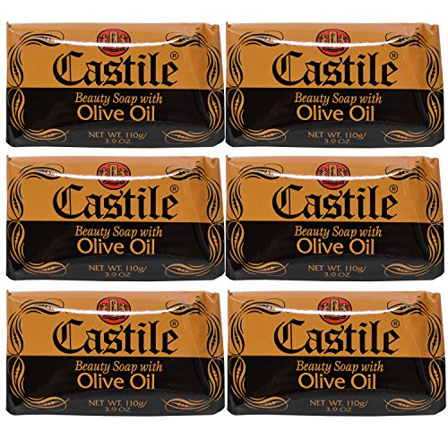 Castile Soap Beauty Soap With Olive Oil, 3.9 Ounces