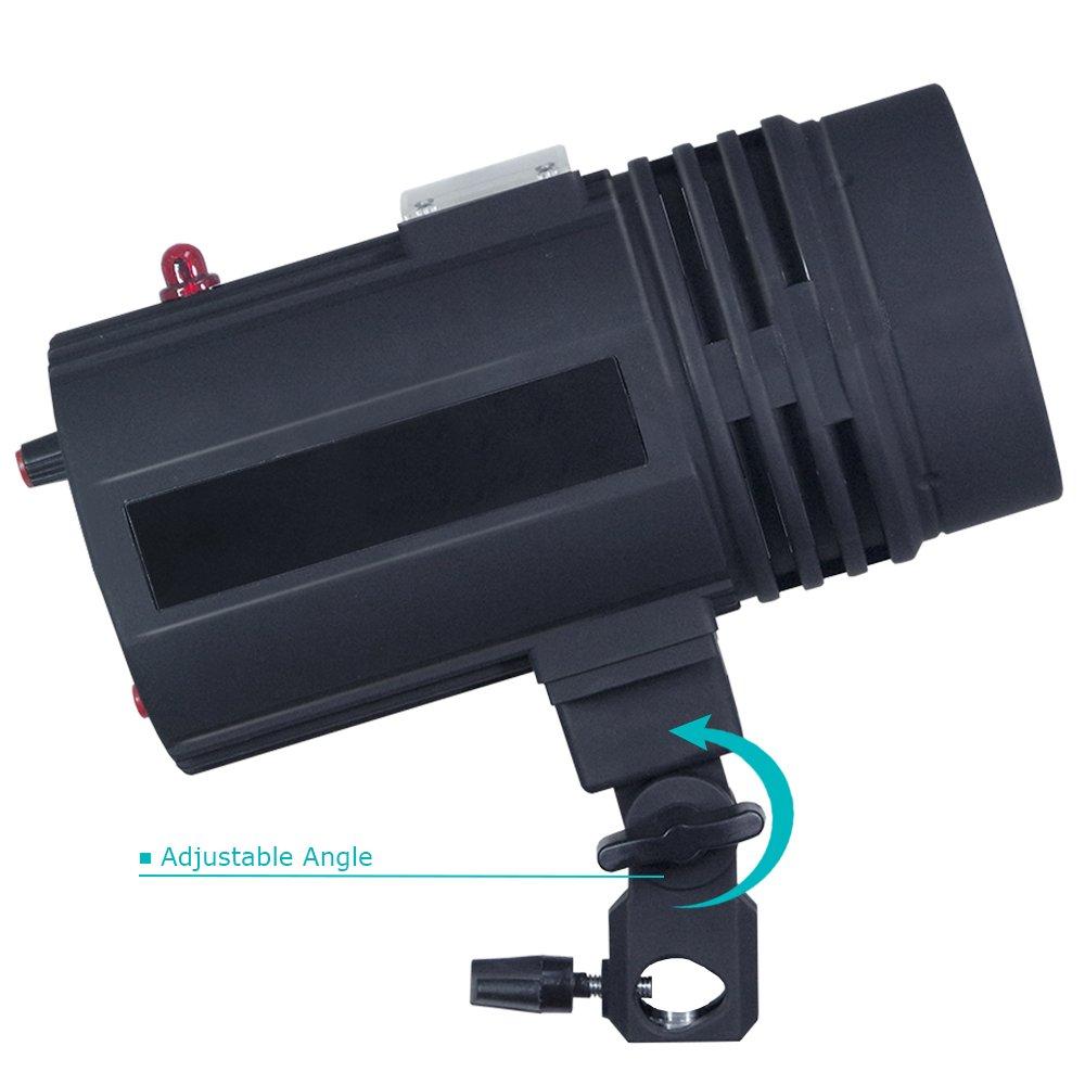 200 Watt Studio Flash/Strobe Light, Fuse, Test Button, Wireless Triggering Available, Umbrella Input, Mount on Light Stand, Professional Photography Use, Photo Studio, AGG2044 by LimoStudio (Image #3)