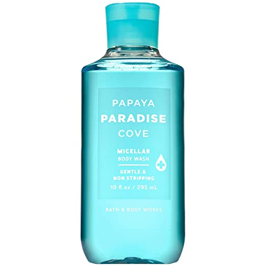Bath and Body Works PAPAYA PARADISE COVE Micellar Body Wash 10 Fluid Ounce (2019 Edition)