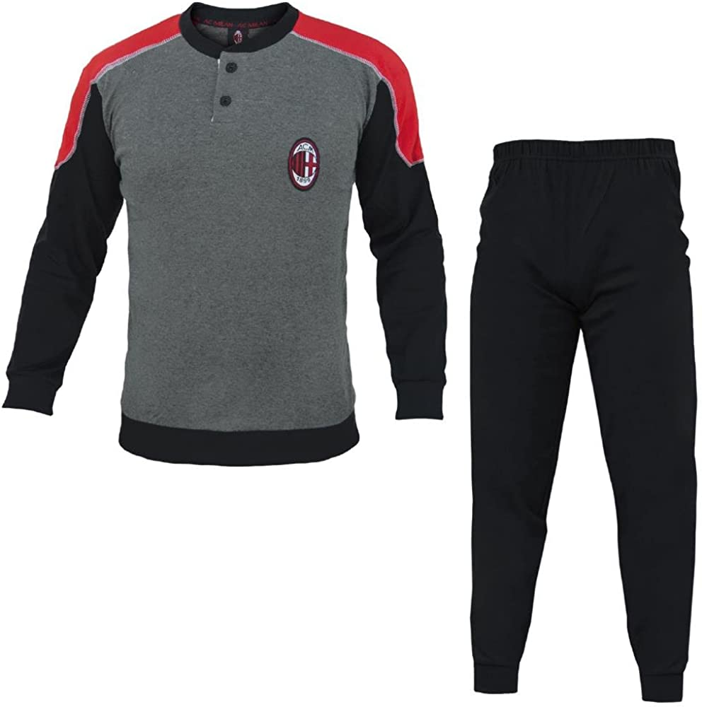 Pigiama Milan Abbigliamento Ufficiale AC Milan PS 25650 Pigiami ...
