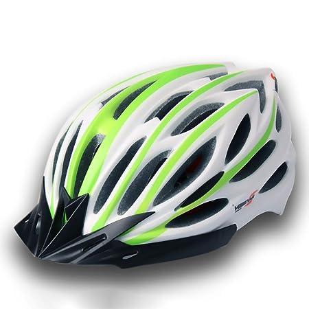 ZXASDC Casco Bicicleta, 54~62cm Ajustable Certificado Bicicleta de ...
