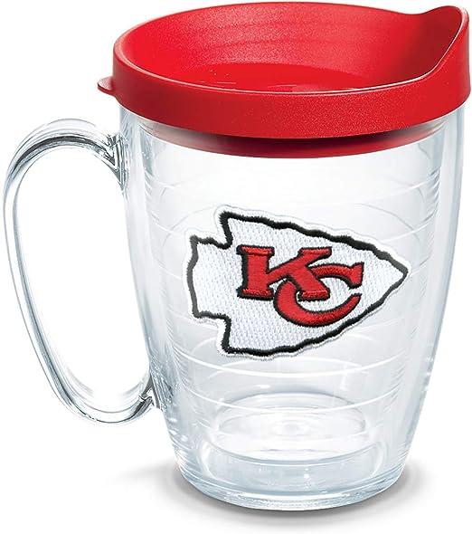Kansas City Chiefs NFL Stainless Steel Travel Tumbler Cup Mug 16oz Coffee Tea