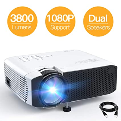 Amazon.com: Proyector APEMAN Video Mini Proyector Portátil ...