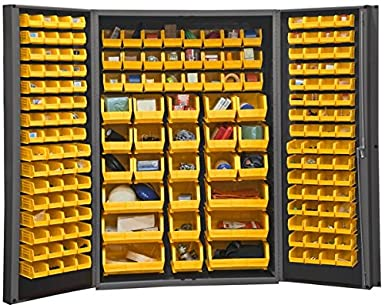 Charmant Durham Heavy Duty Welded 14 Gauge Steel Cabinet With 176 Bins, DC48 176