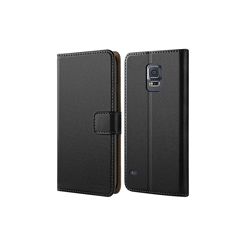 HOOMIL Galaxy S5 Case Premium Leather Ca