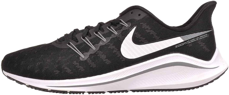 Nike Air Zoom Vomero 14 Men's Running Shoe Wide (D) 黒/白い-THUNDER グレー 12.0