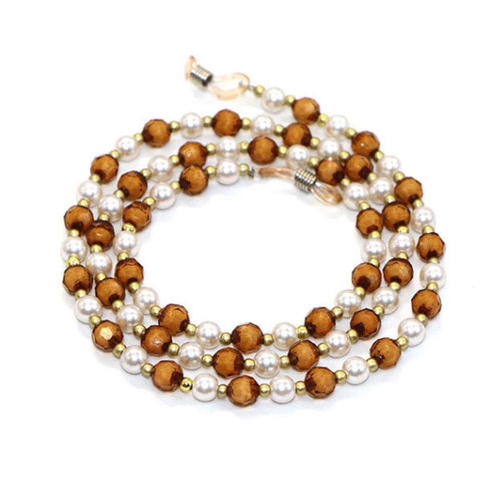 Bead Eyeglass Chain | Reading Glasses Cords Sunglasses Holder Strap Lanyards Eyewear Retainer for Women AOLVO