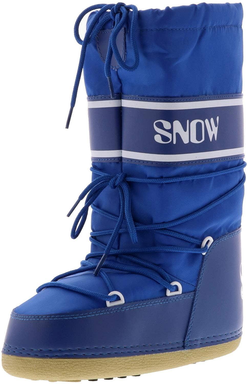 Damen Winterstiefel Snowboots weiß