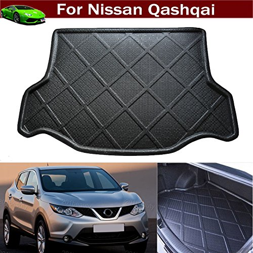 Car Boot Pad liner Cargo Mat Tray Trunk Floor Protector Mat For Nissan Qashqai 2008 2009 2010 2011 2012 2013 2014 2015 2016 2017 2018