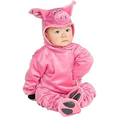 baby infant pig halloween costume sz6 12 months